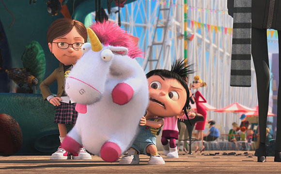 Despicable Me / Cattivissimo Me - Agnes, Margo, unicorno, unicorn