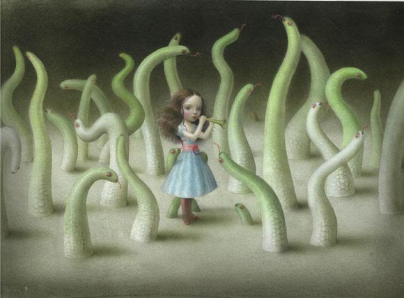 Nicoletta Ceccoli - Incanto, Il Pifferaio Magico / Pied Piper of Hamelin
