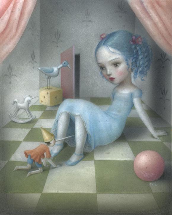Nicoletta Ceccoli - Compagno di Giochi, Pinocchio e la fata turchina sexy