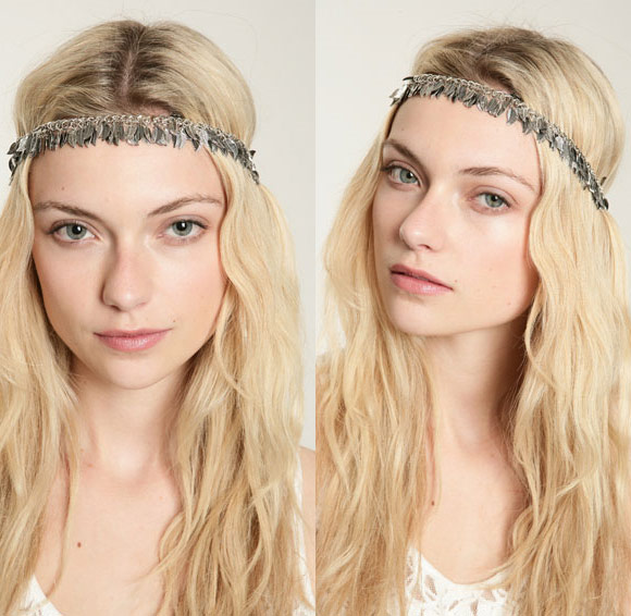Urban Outfitters - Leaf Charm Hairband