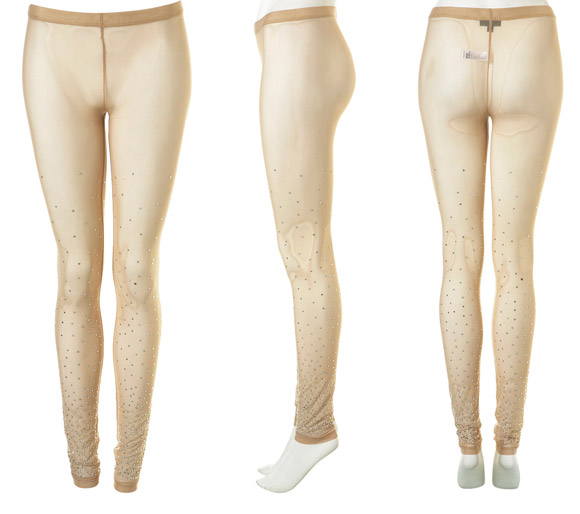 TopShop - Crystal Mesh Leggings