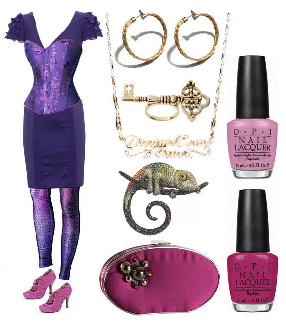 Rapunzel raperonzolo Tangled look outfit kawaii