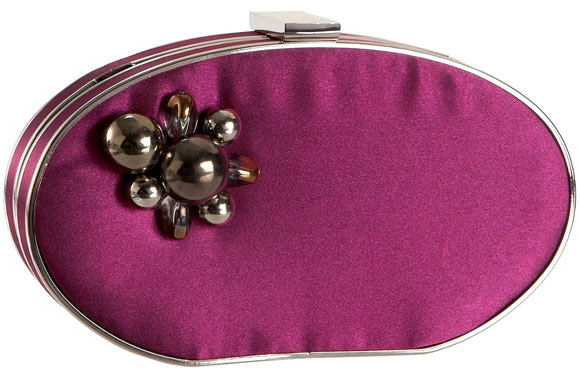 Endless - Menbur Sardo Clutch purple bag, borsa viola