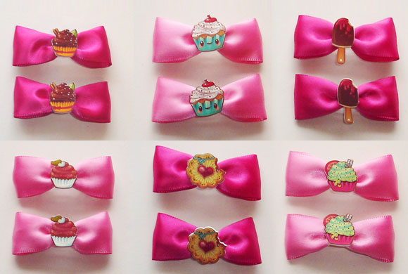 Purrfect Pineapples: Hair Bows