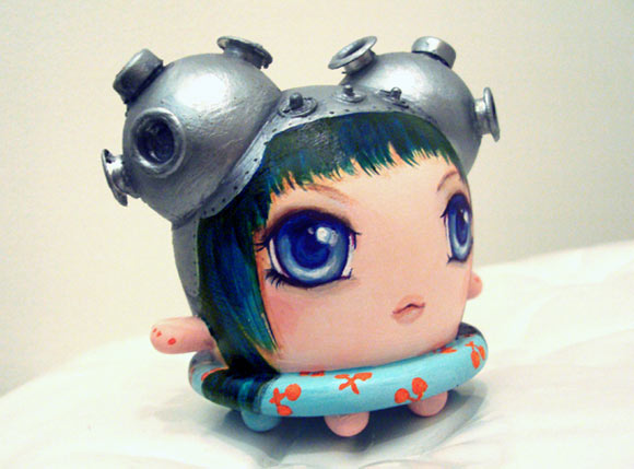 Camilla D'Errico - Cherry Lifesaver for Buff Monster vinyl kawaii toy