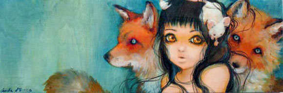 Camilla D'Errico - Familial Fur Trauma, cute kawaii girl with red fox