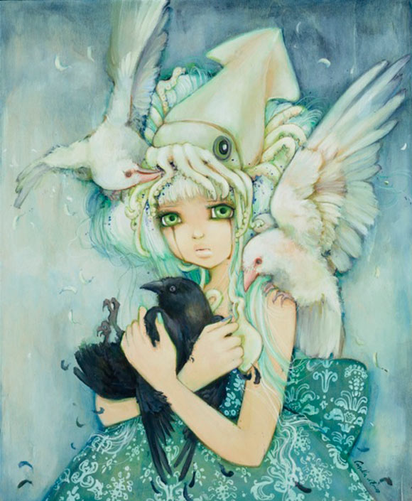 Camilla D'Errico - No Ordinary Love, cute kawaii girl love animals