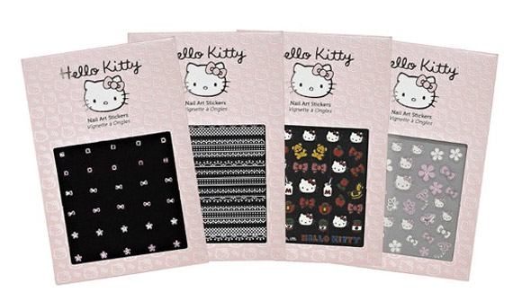 Hello Kitty by Sephora, Nail Art Stickers, Classic Icons, Lace, Modern Icons, Rhinestone Flowers.