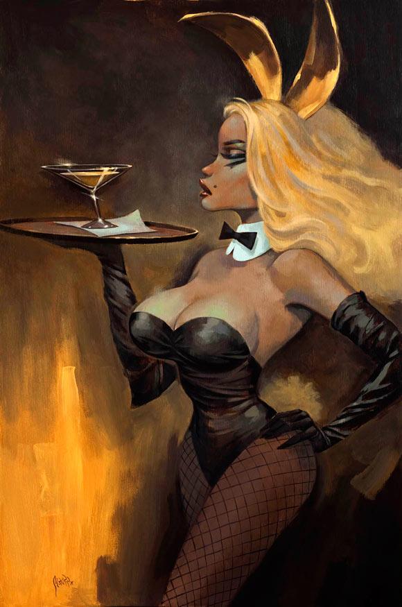 Playboy Redux ll - Glenn Barr - Golden Martini, coniglietta kawaii