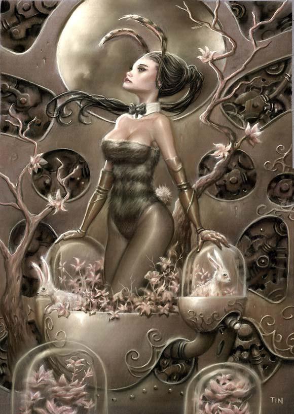 Playboy Redux ll - TIN - Copperheart, coniglietta ape kawaii
