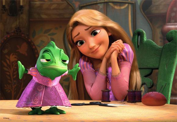 Tangled / Rapunzel - Pascal & Rapunzel