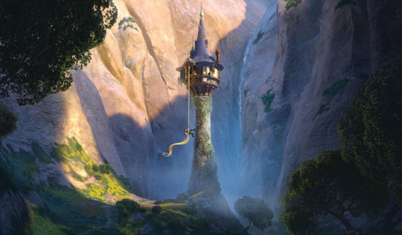 Tangled / Rapunzel - the Tower / la Torre