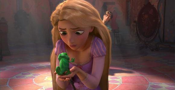 Tangled / Rapunzel - Pascal, Rapunzel, Flynn Rider (Eugene Fitzherbert)