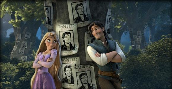 Tangled / Rapunzel - Rapunzel & Flynn Rider (Eugene Fitzherbert) wanted, ricercato