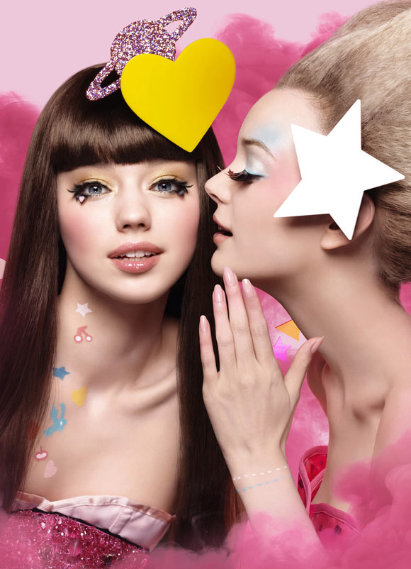 Shu Uemura & Aya Takano - Abracadabra Fantasy, kawaii beauty girls