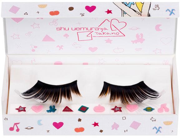 Shu Uemura & Aya Takano - Abracadabra Fantasy, Dream Coaster premium false eyelashes