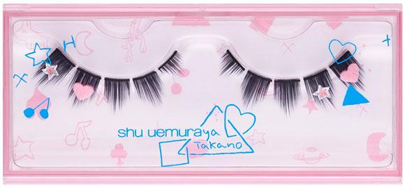 Shu Uemura & Aya Takano - Abracadabra Fantasy, Magical Windfalls partial false eyelashes