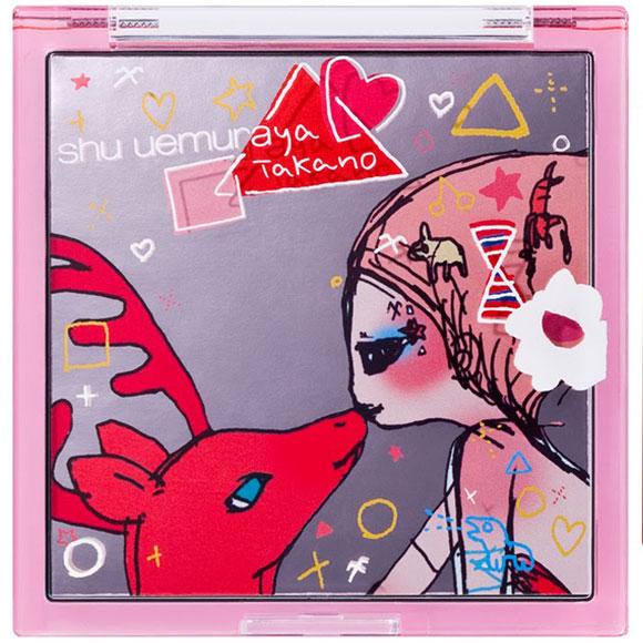 Shu Uemura & Aya Takano - Abracadabra Fantasy, Reindeer Kiss xxxx palette