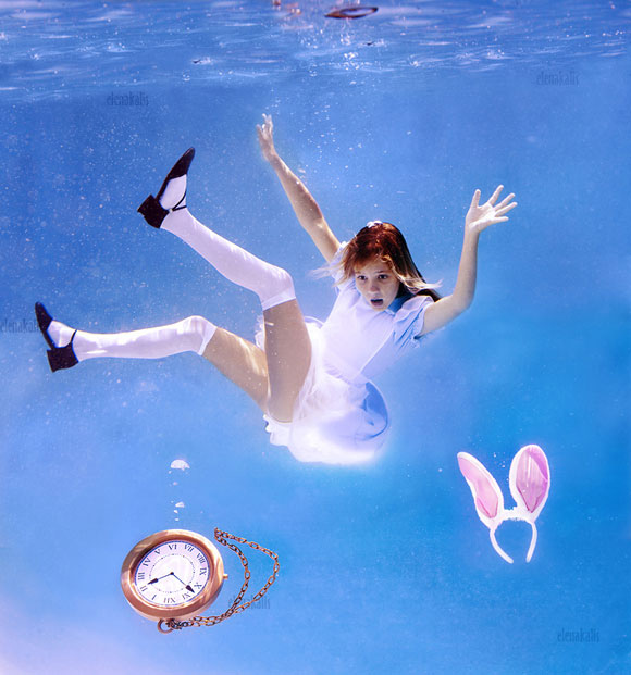 Elena Kalis - Alice in WaterLand - Alice in WonderWater - Down the Rabbit Hole