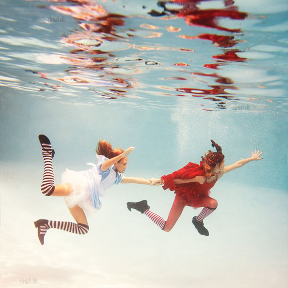 Elena Kalis - Alice in WaterLand - Alice in WonderWater - Faster .. Faster ..