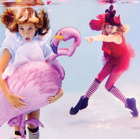 Elena Kalis - Alice in WaterLand - Alice in WonderWater - Alice in WaterLand