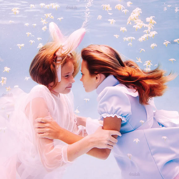 Elena Kalis - Alice in WaterLand - Alice in WonderWater - I Love You My Rabbit