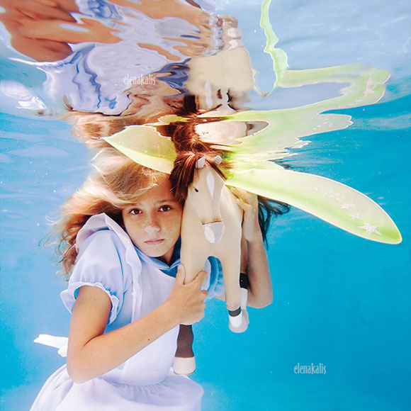 Elena Kalis - Alice in WaterLand - Alice in WonderWater - Alice with the Horsefly