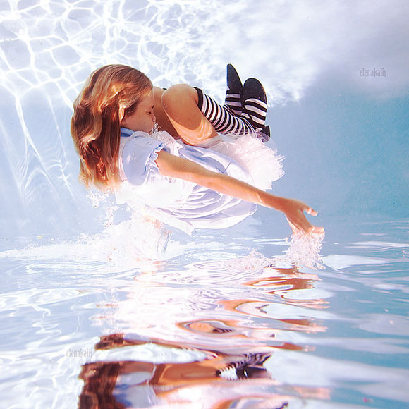 Elena Kalis - Alice in WaterLand - Alice in WonderWater - Alice's Somersault