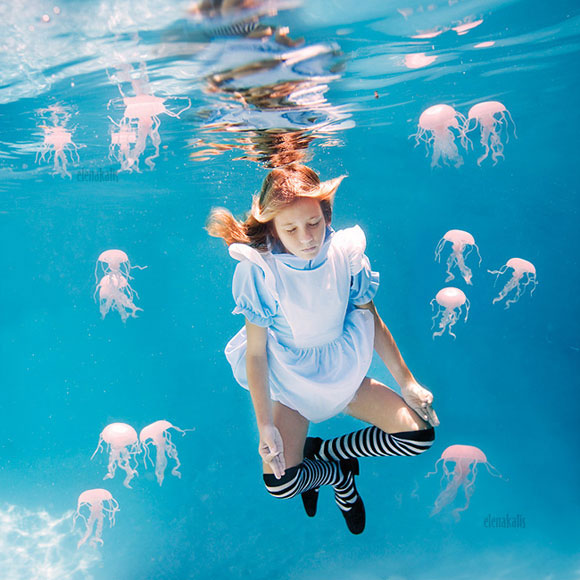 Elena Kalis - Alice in WaterLand - Alice in WonderWater - Who am I?
