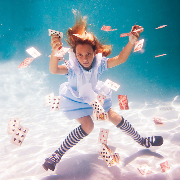 Elena Kalis - Alice in WaterLand - Alice in WonderWater - Alice Cards