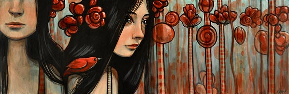 Kelly Vivanco - Peppermint Copse, Springs To Mind