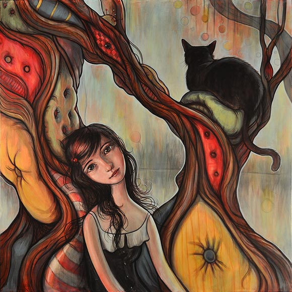 Kelly Vivanco - Cushion Tree, Springs To Mind