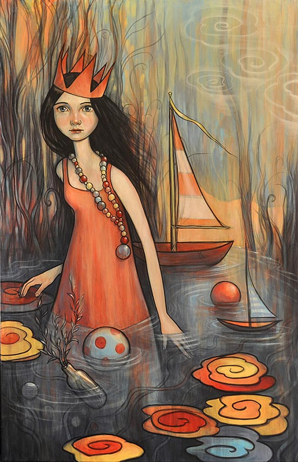 Kelly Vivanco - Wading In, Springs To Mind