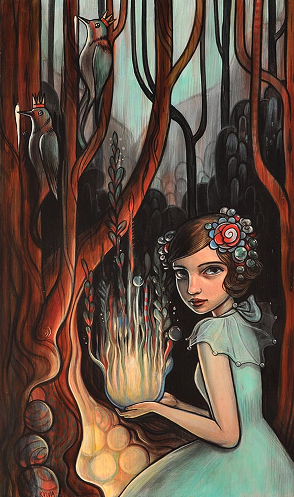 Kelly Vivanco - Rootball Dollhouses, Springs To Mind