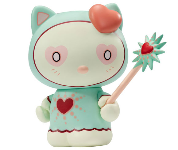 Tara Mcpherson - Magic Love Hello Kitty, Kidrobot x Sanrio, vinyl and toys custom