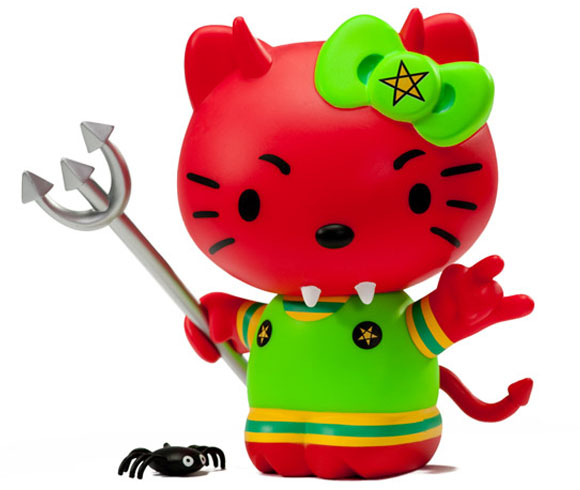 Frank Kozik - Empress Of The Underworld Hello Kitty, Kidrobot x Sanrio, bad devil, diavoletta cattiva