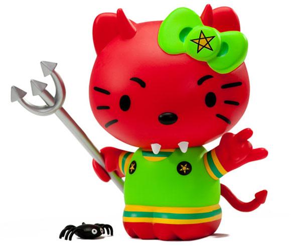 Frank Kozik - Empress Of The Underworld Hello Kitty, Kidrobot x Sanrio, bad devil, diavoletta cattiva