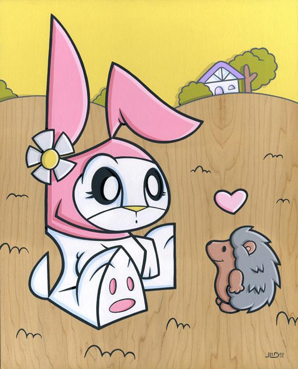 Joe Ledbetter - My Melody Remix, kawaii bunny coniglio