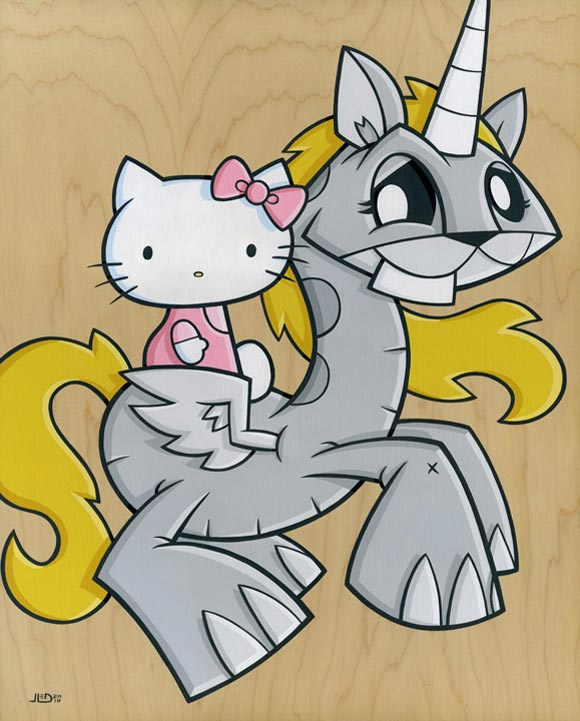 Joe Ledbetter - BFF's #2, Hello Kitty and unicorn kawaii