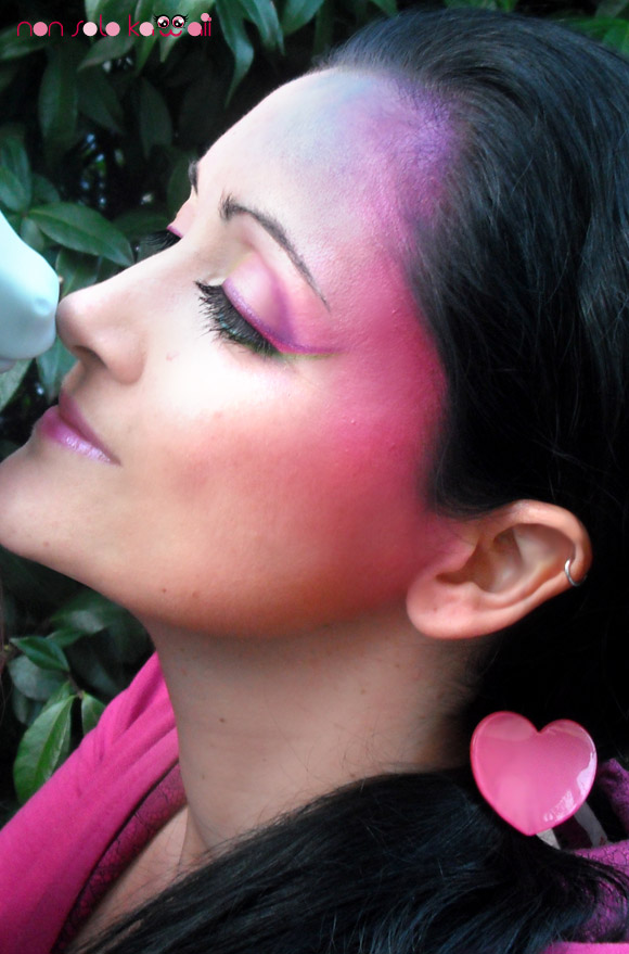 My Little Pony make-up by non solo kawaii