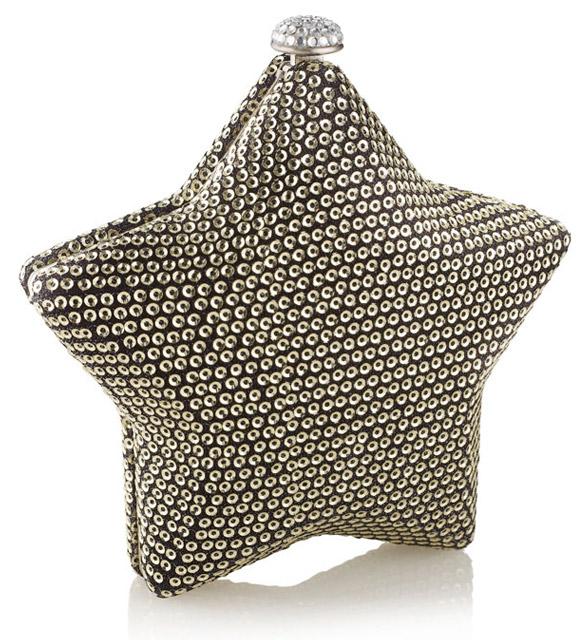 Accessorize - Twinkle Twinkle Little Star Clutch Bag, borsa a stella
