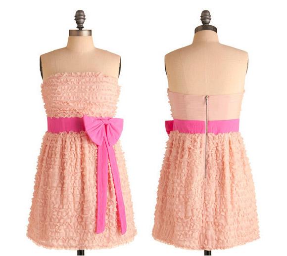 ModCloth - Home Before Ten Dress, abito kawaii rosa