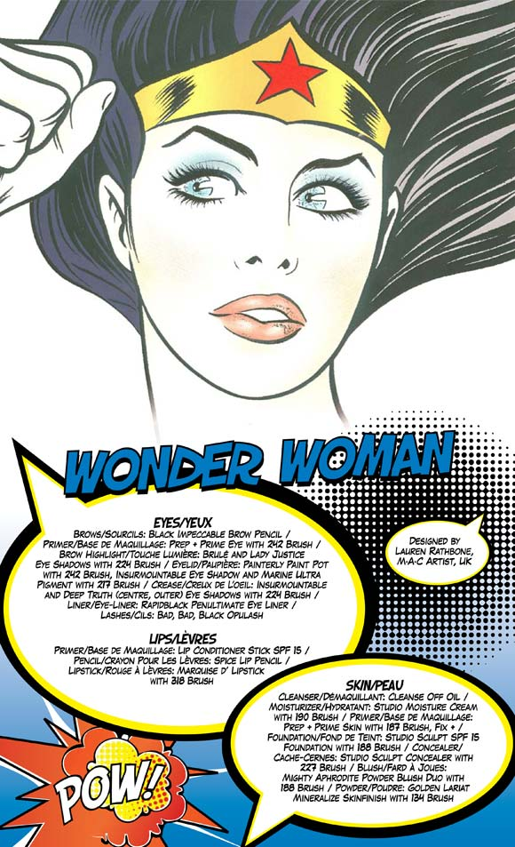 MAC Wonder Woman - Look