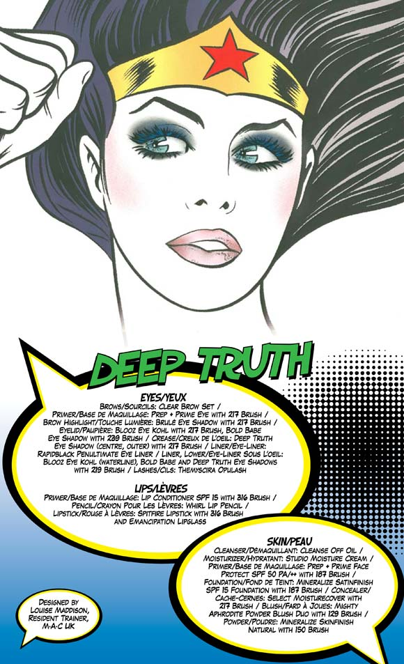 MAC Wonder Woman - Deep Truth Look