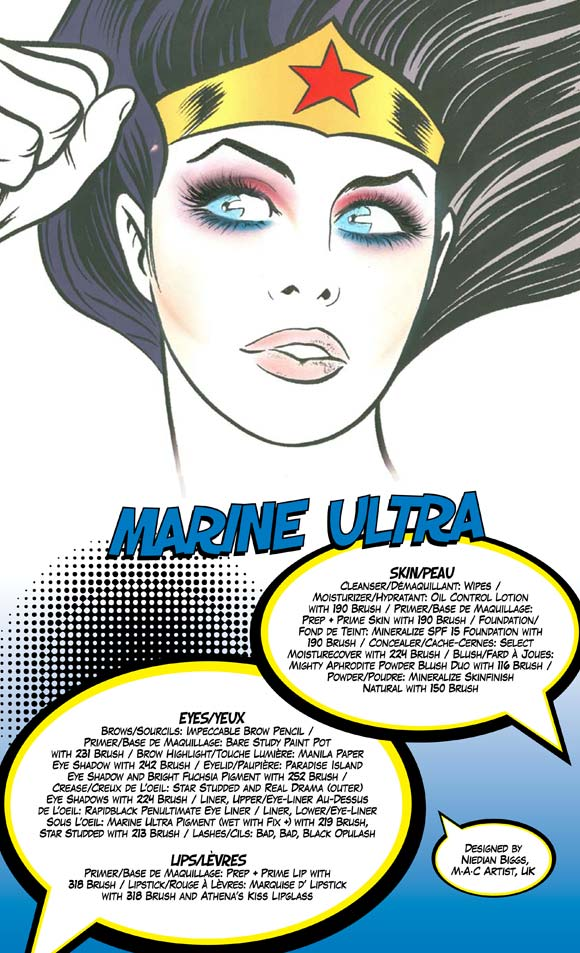 MAC Wonder Woman - Marine Ultra Look