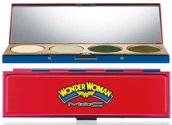 MAC Wonder Woman Valiant Eyeshadow Quad