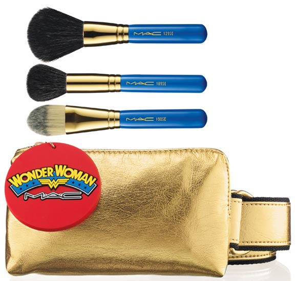 MAC Wonder Woman Utility Belt Face Brush Set