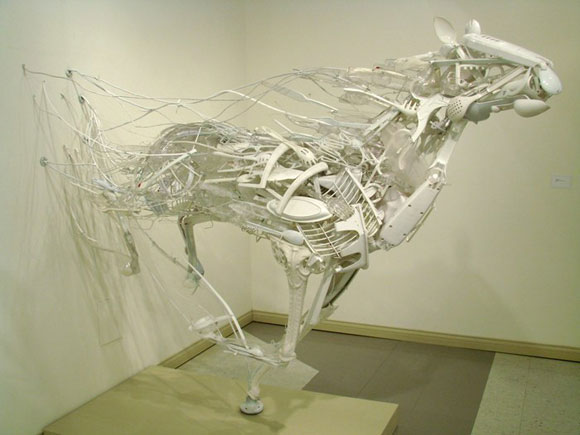 Sayaka Kajita Ganz, Wind - Cavallo bianco - White horse