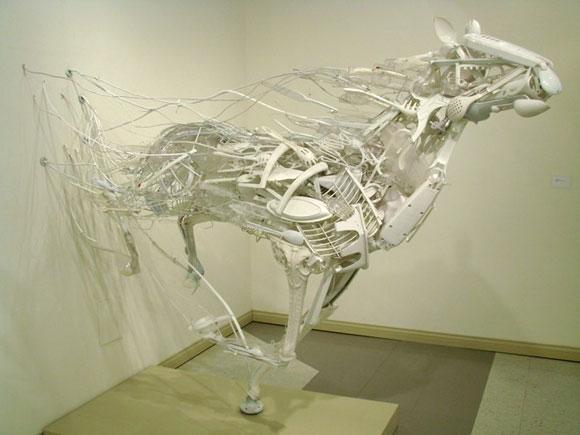 Sayaka Kajita Ganz, Wind - Cavallo bianco - White horse