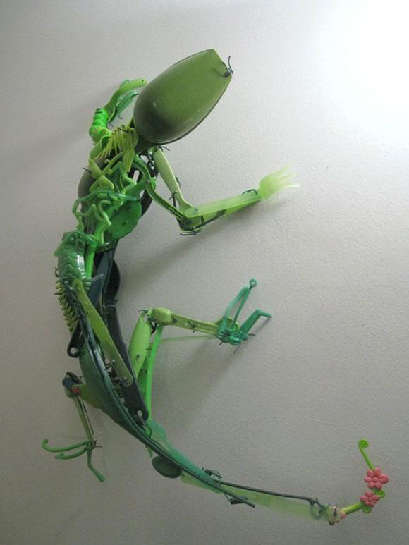 Sayaka Kajita Ganz, Arbor - Green Lizard - Lucertola Verde